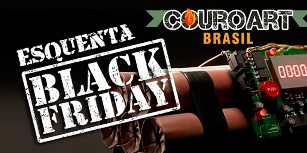Prepare-se: a Black Friday na CouroArt está chegando!